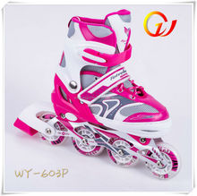 Four PU/PVC light speed well derby skate,quad roller skates