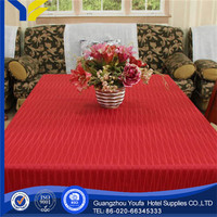 faux fur made in China embroidered Plain Dyed wipe clean pvc transparent table cloth