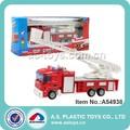 diecast camión de bomberos de juguete con la escala de escalera