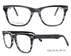 Fashion acetate optical frame for young people , CE Certification , high quality