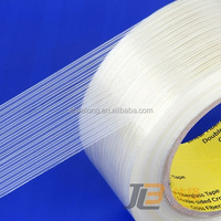 LT-611, uni-directional strapping&adhesive tape J, one way filament tape used for bunding and box-sealing,pipe strapping