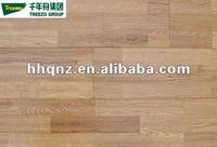 3-strip Finger Joint Engineered White Oak Flooring (floating,T&G)