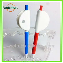 Hot plastic ballpen with Special clip ,promotional pens
