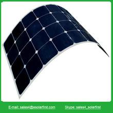 high efficiency mono flexible solar panel 130w