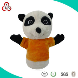 Gift Soft Stuffed Wholesale Customed tiger hand puppet,dinosaur hand puppet,hand puppet