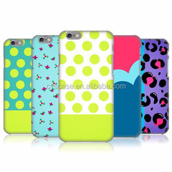 Wholesale for iPhone 6 capa Colorful dot painting cover