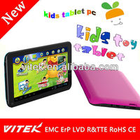 Dual Core 7 inch Children Education Tablet PC Game Tab