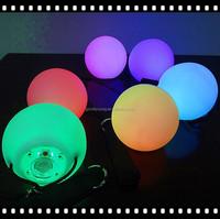 2015 Hot Selling Belly Dance LED Poi Veils LED Circle Lights