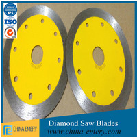 HOT selling hot pressed sintered continuous rim diamond saw blade for fast cutting ceramic tile