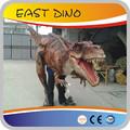Popular borracha de silicone realista dinosaur costume