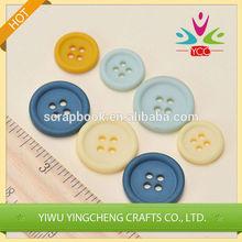 Decoración de prendas de vestir de plástico botón botón