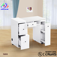 beauty nail salon station fashionable factory supply manicure table