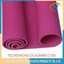 2015 custom tpe yoga mat, washable yoga mat, gymnastics mat folding
