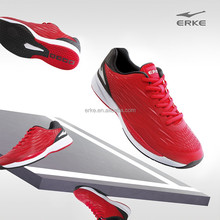 ERKE 2015 NEW mens professional tennis shoes performance tennis training shoes with TPR seamless upper for wholesale/OEM