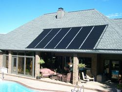 New inventions durability PP solar panel above ground swimming pool