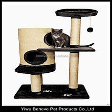 2015 hot selling luxury cat condo for cats to hide and play