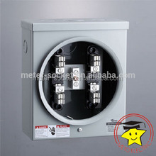 100A Rectangle Single Phase Meter Socket