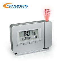 Radio Controlled time temperature projector clock
