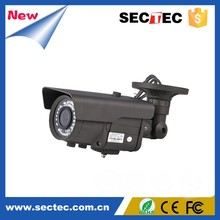 Outdoor Bullet IP Camera, P2P 720P Megapixel IP Camera Waterproof Support Two Way Audio, POE