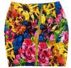 Trade Assurance Women Flower Printed Shiny Bodycon Leather Mini Skirt 2014 Fashion Design Women Leather Pencil Skirt