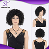 Factory wholesale lowest price afro white festival wig
