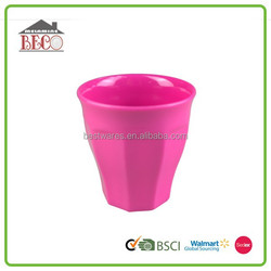 Good quality functional large capacity colorful melamine cool cup designs