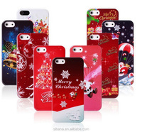 2015 New Merry Christmas Santa Greetings phone case for iPhone 5,/5c/ 5s for iphone 6, 6plus