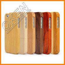 2015 New Full Protective Novel Bamboo Phone Case