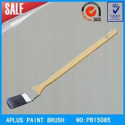 wooden handle PBT/PET bent brush