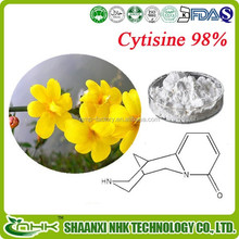 Made in China Gmp factory supply 100% natural high purity cytisine powder/ broom extract/ broom extract powder in bulk