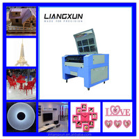 hot sale laser cutting machine for acrylic crystal words/acrylic fish tank/ceramic crafts