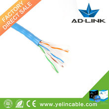 Best price and conductor material bare copper 4 pairs UTP cat6 cable