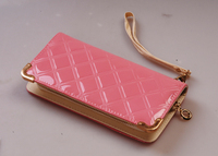 pink Messenger Bags Stone Pattern Women Handbag Female Leather Clutch Wristlet Evening Bags Cosmetic Purse Fashion PU Bags