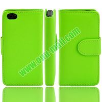Bright Colorful Waller PU Leather Vertical Cover for iPhone 5C Case