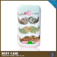 Hign quality lovely beard design hard back cover for nokia lumia 710 phone case
