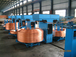 Oxygen content below 10ppm copper cable making equipment