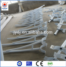 From 3.5m-12m Solar street lighting pole
