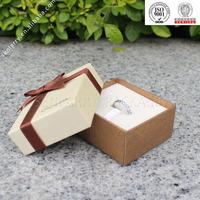 2015 luxury jewelry ring box velvet filled wholesale