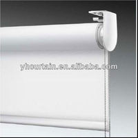 Fire retardant manual rolling blinds types of blinds