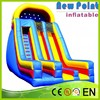 New Point funny cute Children Cheap Outdoor Inflatable Slide For Sale