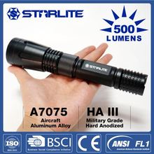 STARLITE 2015 Powerful 500LM IPX7 wall mounted emergency rechargeable flashlight