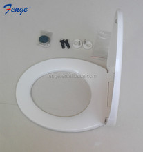 HOT Sell ! Romania style ! UF bathroom toilet lid cover with slow fall function/ plastic seat cover