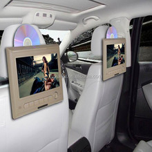 """Capacitive screen 10.1"""" car headrest mount portable dvd player touch control"""