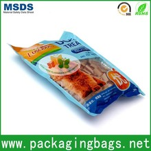 dog treats plastic packaging bag design/high quality animal food plastic pouch