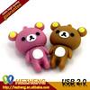 Cartoon Bear 128GB Flash Drive USB 3.0