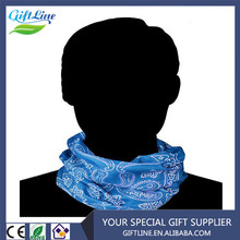 Soft Touch High Performance Wicking Blue Bandana,Headwear Wrap