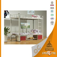 Direct Sale School Dormitory Bunk Folding Cabinet Bed