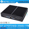 Cheapest fanless computer case with Intel core i7 4770T 2.5GHZ Quad Core 16G RAM 256G SSD 1TB HDD
