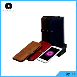 high quality pu leather cell phone case for iphone 6s case for EU and US market