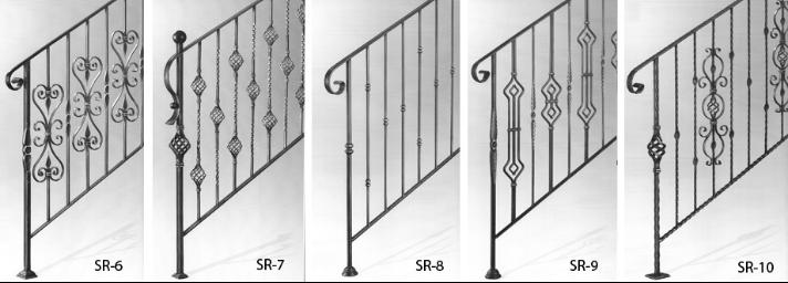 Barandas de hierro forjado para escaleras wrought iron for Escaleras sodimac